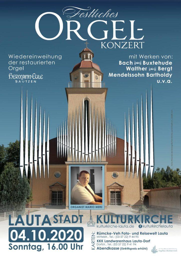 Orgelkonzert Kulturkirche